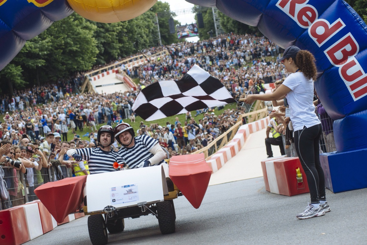 Get  Ready for the Redbull Soapbox Race!!