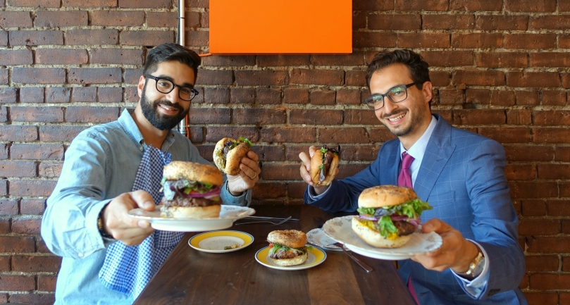 Na'eem Adam and Thierry Rassam Le Burger Week[2]