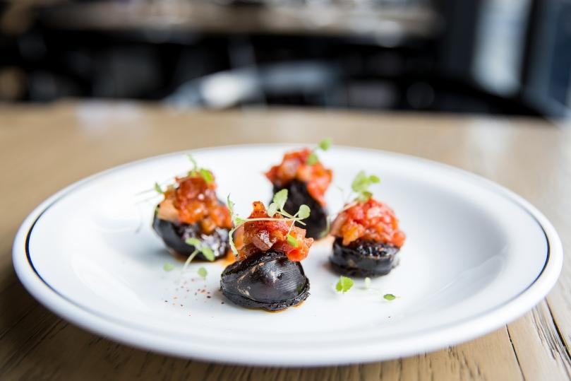 Espagne_SIAL_Boudin avec Chutney aux tomates-6